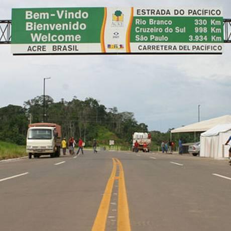 Rodovias no Acre teria sido usadas para desvio de verba pública Foto: Divulgação