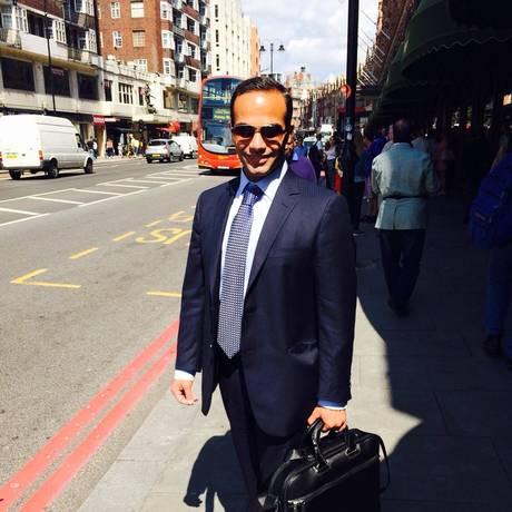 O ex-assessor da campanha de Trump de política externa George Papadopoulos Foto: Reprodução