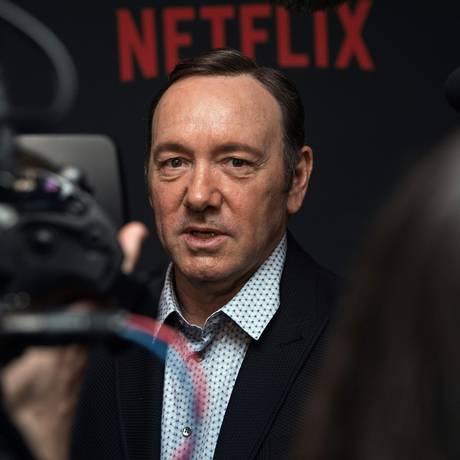 O ator Kevin Spacey Foto: NICHOLAS KAMM / AFP
