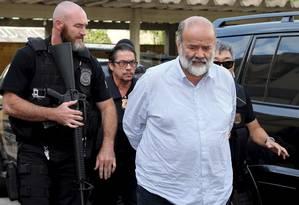 O ex-tesoureiro do PT, João Vaccari, ao deixar o Instituto Médico Legal de Curitiba, em 2015 Foto: Rodolfo Buhrer / Reuters / 15-4-2015