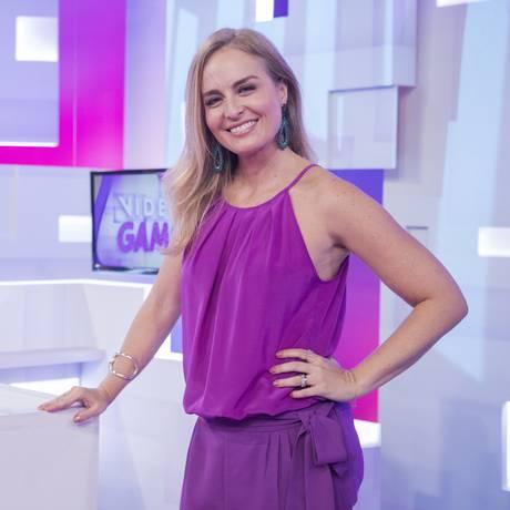 Angélica grava temporada especial do Video Game Foto: Divulgação/TV Globo/Victor Pollak