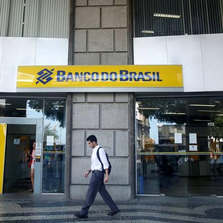 Agência do Banco do Brasil no centro do Rio de Janeiro Foto: Pilar Olivares / Reuters