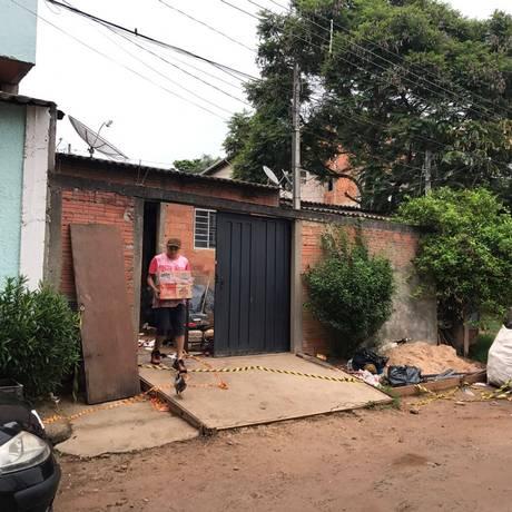 Casa teria sido motivo para atirador matar parte da família em Campinas, SP Foto: Jussara Soares / Agência O Globo