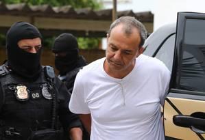 O ex-governador do Rio de Janeiro, Sérgio Cabral (PMDB) Foto: Geraldo Bubniak / Agência O Globo