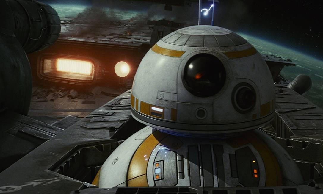 BB8, o dróide eletrônico queridinho dos fãs de 'Star Wars' Foto: Divulgação
