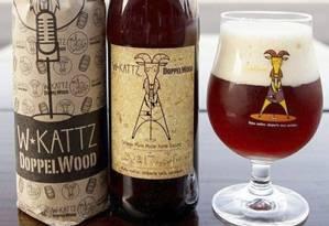 New England Sour. O produto da W.Kattz, uma nas novidades do evento, é um rótulo da cerveja envelhecida em barril de carvalho Foto: Divulgação / Divulgação