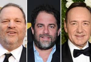 Harvey Weinstein, Brett Ratner, Kevin Spacey, Dustin Hoffman Foto: Arquivo