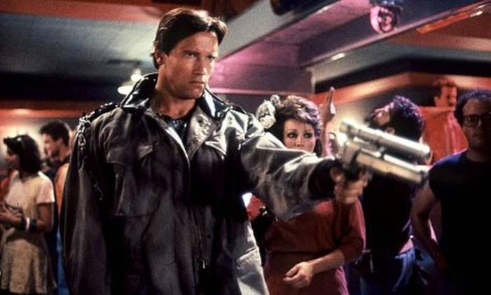 Cena de 'O Exterminador do Futuro', de 1984 Foto: Reprodução