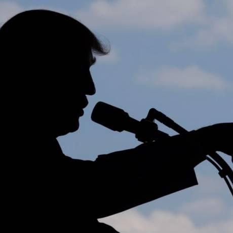 Trump: reprovação internacional por isolamento na política climática Foto: Luca Bruno/AP/27-5-2017