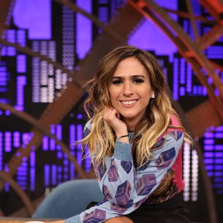 Tatá Werneck voltou a acertar na segunda temporada do programa 'Lady night', do Multishow Foto: Divulgação/Multishow/Gianne Carvalho
