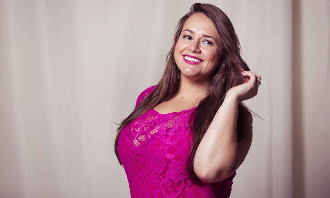 Jéssika Lima: 26 anos, 1,63m de altura, 85 quilos e manequim 46 Leo Martins / Agência O Globo