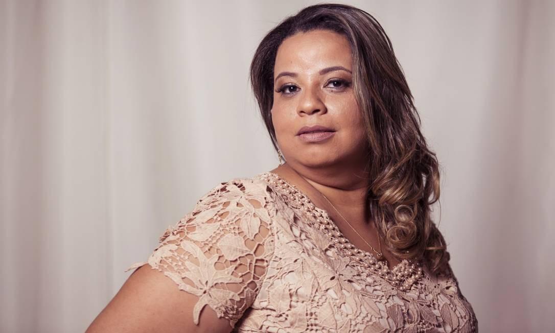Valéria Souza: 37 anos, 1,65m de altura, 94 quilos e manequim 46 Leo Martins / Agência O Globo