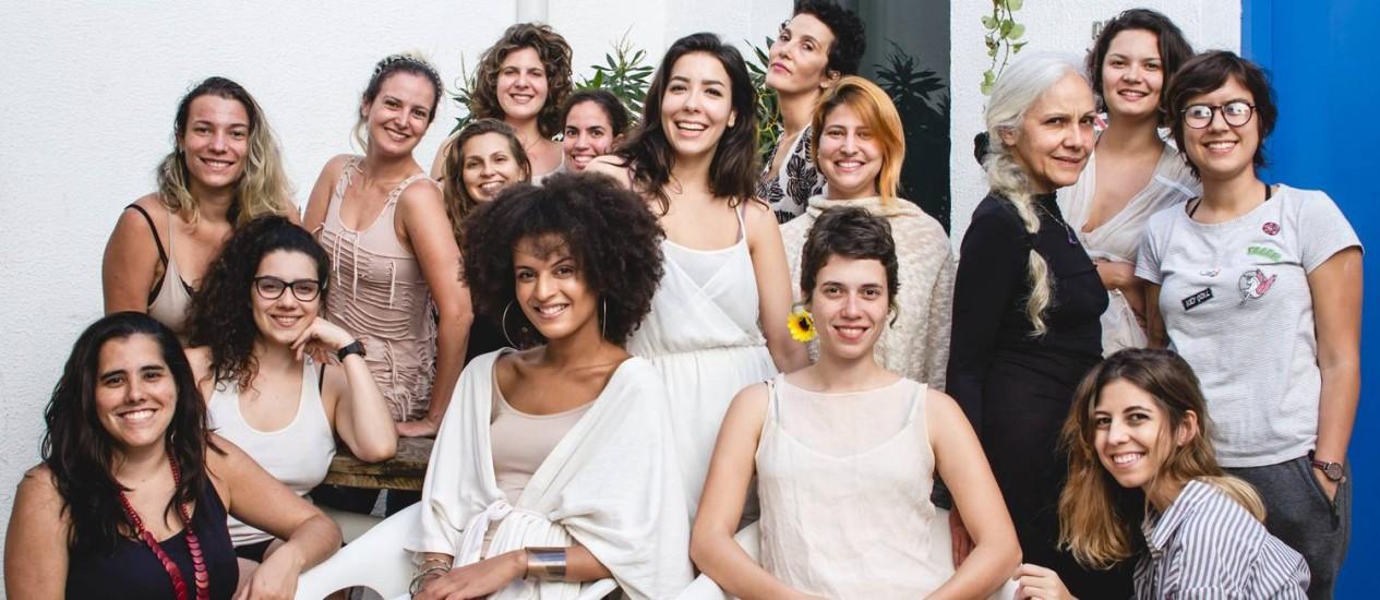 A equipe de mulheres por trás dos InCômodos Foto: Andressa Guerra / Divulgação
