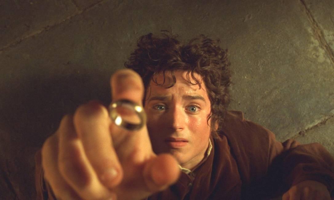 Elijah Wood em cena de 'O Senhor dos Anéis: A Sociedade do Anel', de 2001 Foto: Divulgação