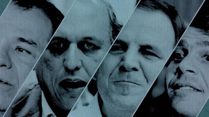 Cabral, Pezão, Paes e Pedro Paulo Foto: O GLOBO