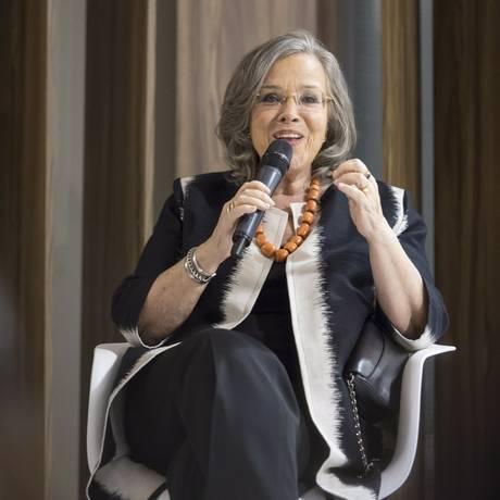 Rosiska Darcy de Oliveira vai coordenar ciclo de palestras da ABL Foto: Leo Martins / Agência O Globo