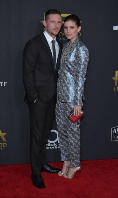 Jamie Bell e Kate Mara Neilson Barnard / AFP