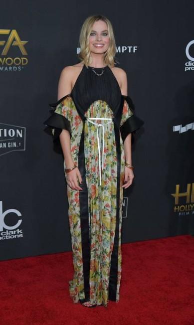 Margot Robbie de Louis Vuitton Neilson Barnard / AFP