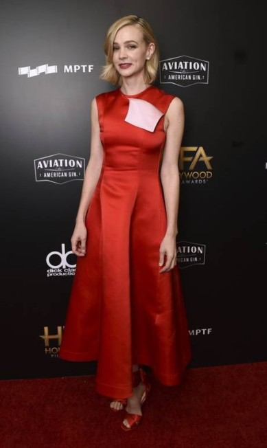 Carey Mulligan de Calvin Klein Jordan Strauss / Jordan Strauss/Invision/AP
