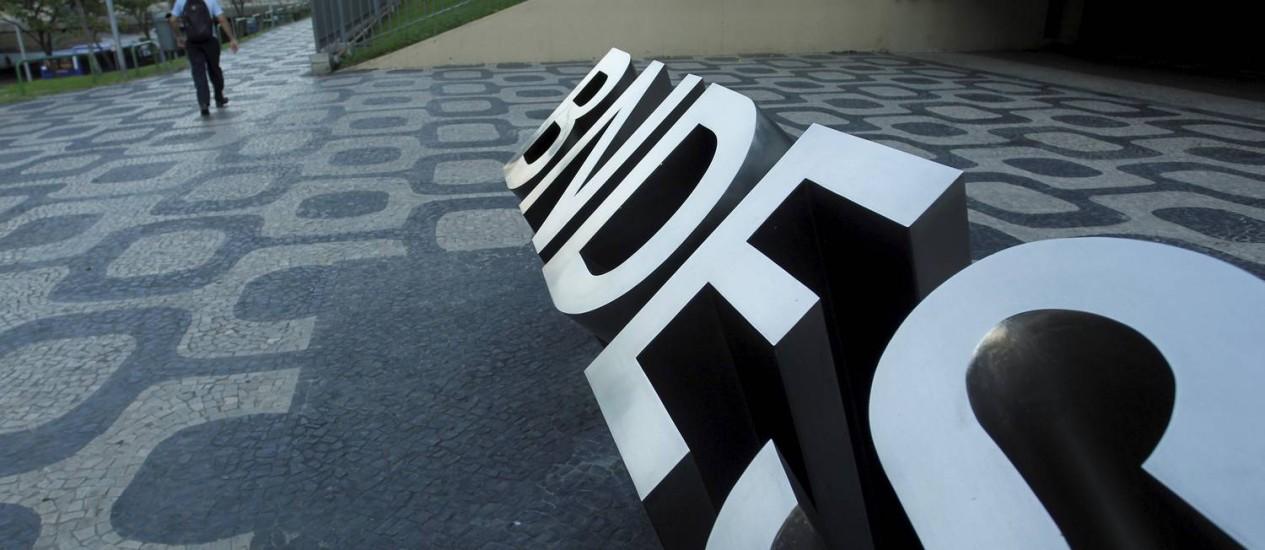 Sede do BNDES, no Rio Foto: Pedro Teixeira