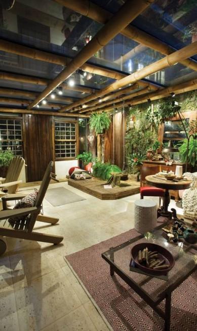 Ana Benayon, Julia Benayon e Jorge Benayon assinam o Jardim Secreto, ambiente que traz para a área íntima da casa um espaço para contemplação Divulgação