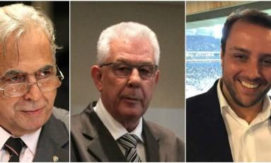 Eurico, Horta e Brant vão administrar o Vasco até segunda Foto: Arquivo