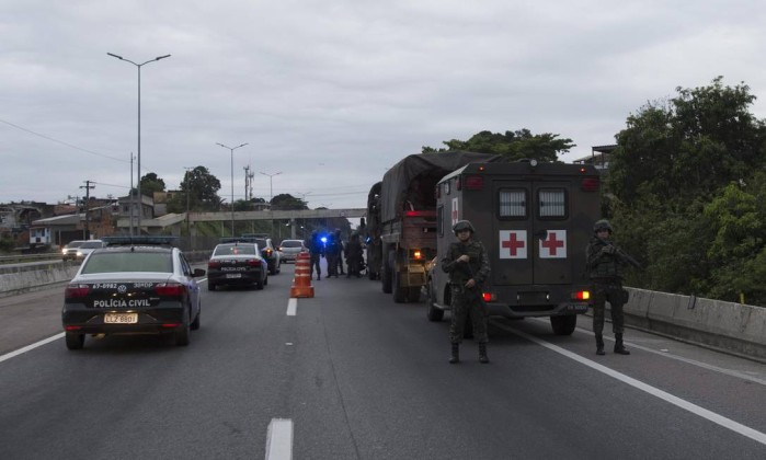 Forças de Segurança realizam operação integrada em São Gonçalo