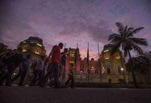 Palácio Guanabara, sede do governo do estado Foto: Alexandre Cassiano / Agência O Globo