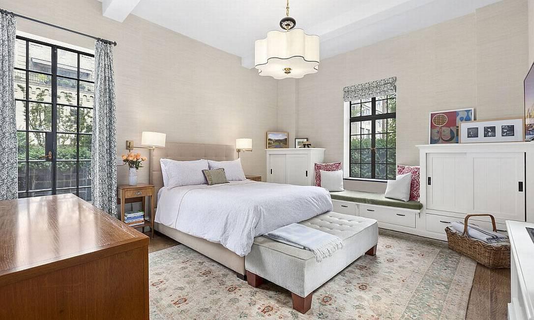 A coberutra tem dois quartos: a suíte principal... © corcoran