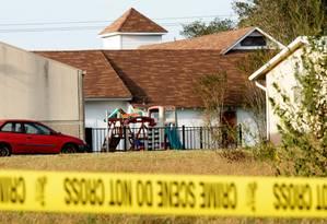Frequentadores de missa foram mortos por atirador Foto: Rick Wilking / REUTERS