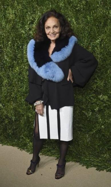 A estilista Diane von Furstenberg Evan Agostini / Evan Agostini/Invision/AP