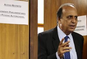 O governador do Rio, Luiz Fernando Pezão Foto: Jorge William / Agência O Globo 07/11/2017