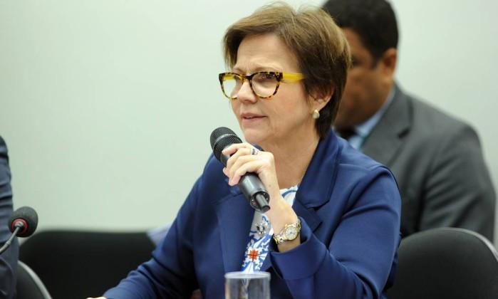 A deputada federal Tereza Cristina (Sem partido-MS) Foto: Billy Boss/Câmara dos Deputados/03-05-2017