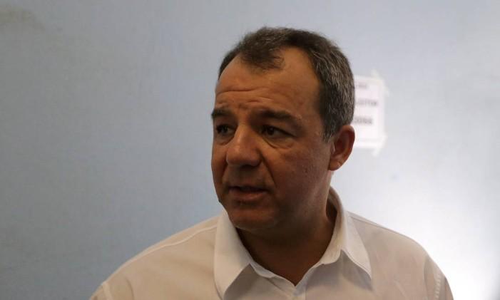 O ex-governador Sérgio Cabral Foto: Urbano Erbiste / Agência O Globo / 5-10-14