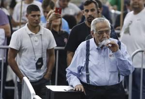 Eurico Miranda levou a maioria dos votos na urna suspeita Foto: ANTONIO SCORZA / Agência O Globo