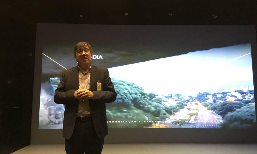 Bruno Motta, gerente executivo de Comunicação e Marcas da Petrobras Foto: / Bruno Rosa