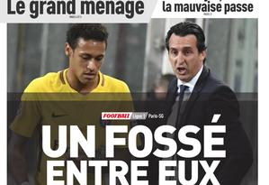 Capa do L'Équipe desta quarta-feira, 08/11 Foto: Reprodução