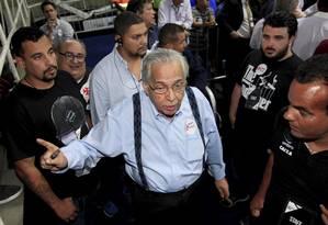 Eurico Miranda foi o mais votado, mas eleição será decidida na Justiça Foto: Uanderson Fernandes / Agência O Globo