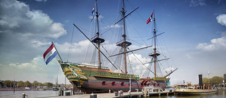 A réplica da embarcação do século Foto: EDDO HARTMANN / Museu Marítimo Nacional