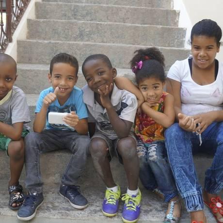 Beneficiados. Menores assistidos pela Associação Saúde Criança, na sede em Botafogo Foto: Divulgação/Acervo Saúde Criança
