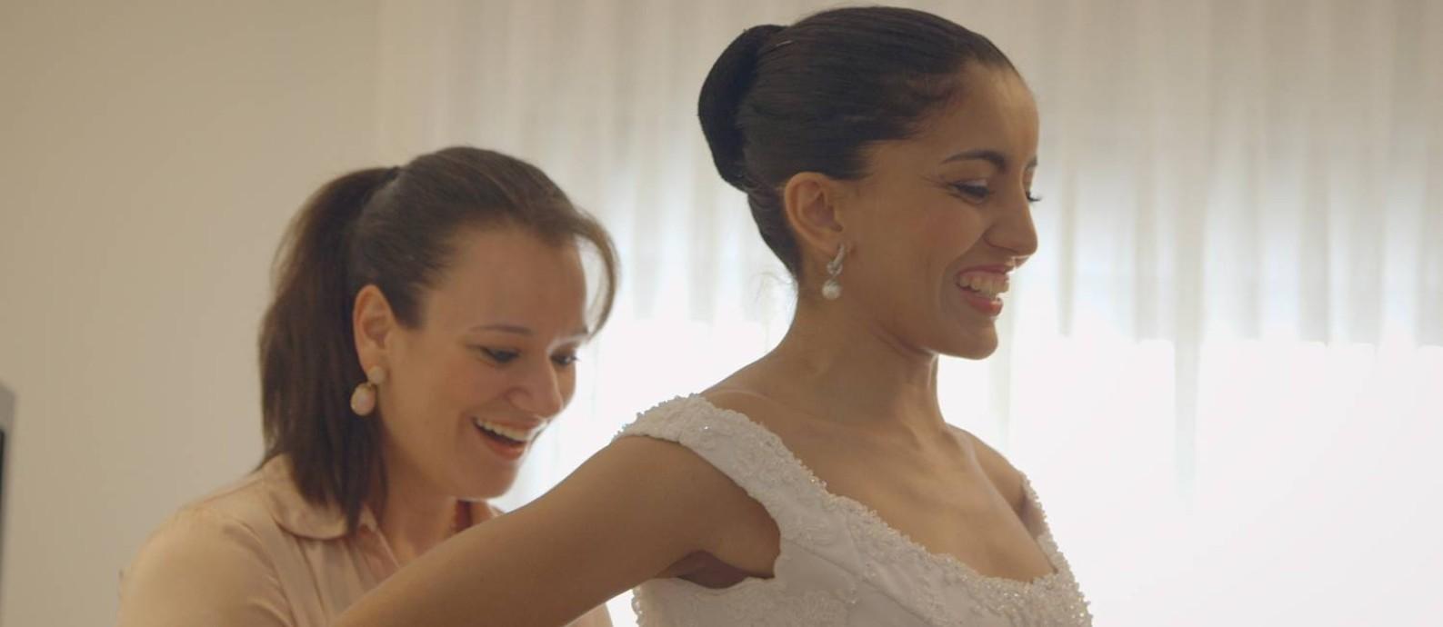 Cena do filme 'OIhando para as estrelas' Foto: Divulgação