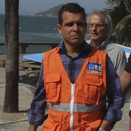 O presidente da Comlurb, Rubens Teixeira Foto: Fabiano Rocha / Agência O Globo