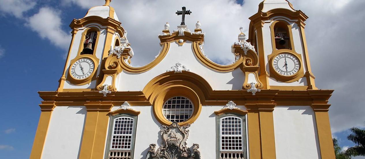Monumentos religiosos da cidade de Tiradentes, preservados, são atrativos turísticos Foto: Banco de Imagens