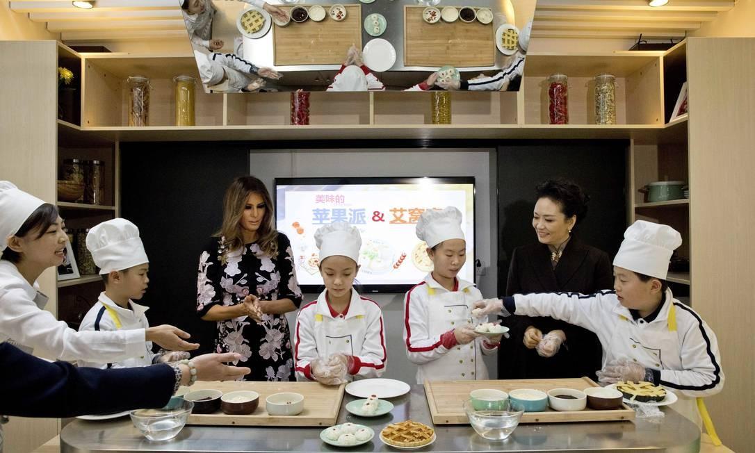 ...culinária... Ng Han Guan / AP