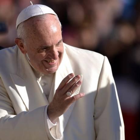 Papa usou dados da OMS para justificar fim da venda de cigarros Foto: FILIPPO MONTEFORTE/AFP/8-11-2017