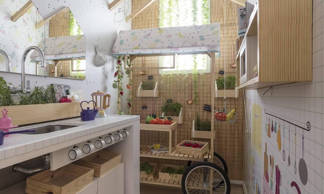 Cozinha Kids Foto: Divulgação