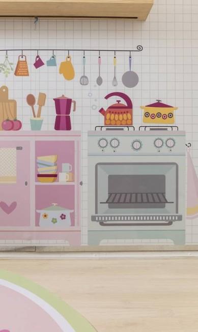 Detalhe da Cozinha Kids Divulgação
