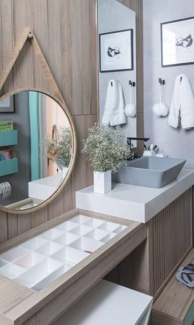 O banheiro dos meninos de Carmen Zaccaro, da Cantinho de Dormir Divulgação