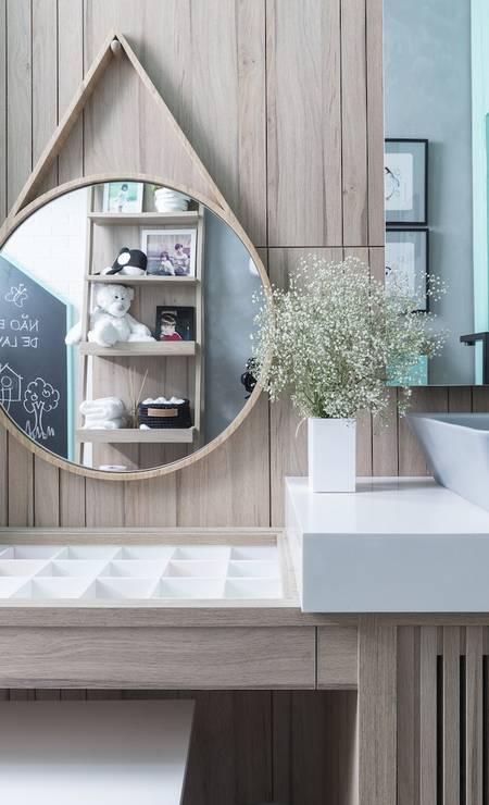 Banheiro dos meninos Foto: Divulgação