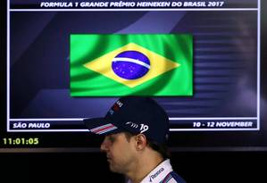 Felipe Massa confirmou sua aposentadoria da Fórmula 1 ao fim da temporada Foto: PAULO WHITAKER / REUTERS